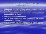 TURKISH FEED MANUFACTURERS' ASSOCIATION