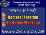 Department of Clinical and Health Psychology