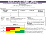 RISK MANAGEMENT MATRIX