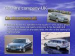 Car hire and rental company UK