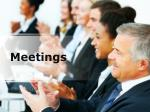 meetings (modern) ppt presentation content: 134 slides
