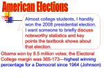 American Elections