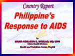 Philippine's Response to AIDS