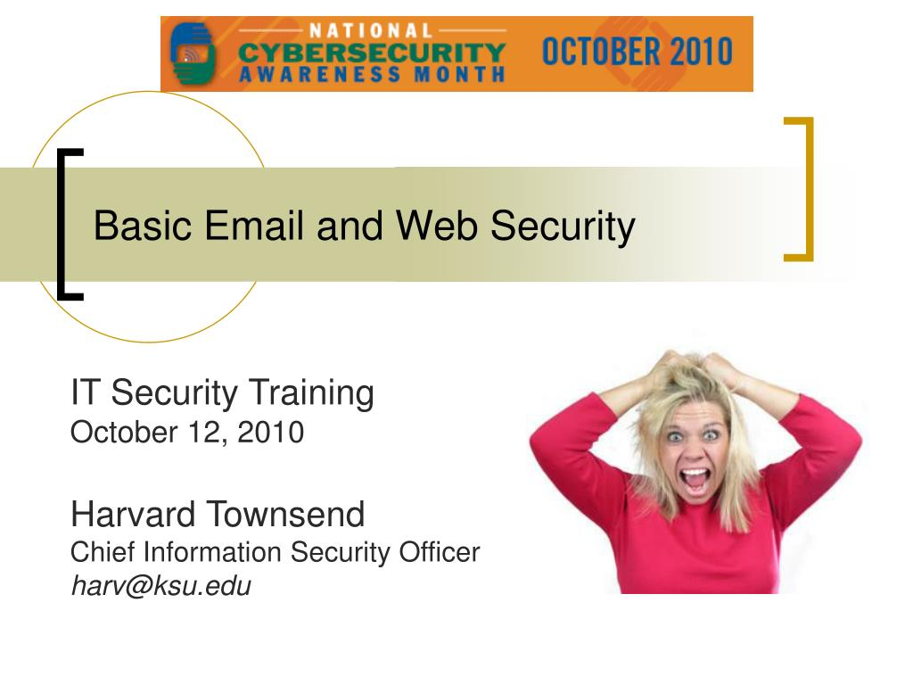 basic email and web security l.