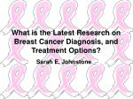 What is the Latest Research on Breast Cancer Diagnosis, and Treatment Options?