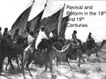 Revival and Reform in the 18 th and 19 th Centuries