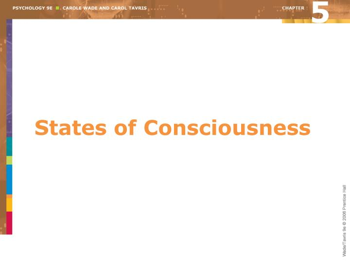PPT - States of Consciousness PowerPoint Presentation - ID:1397343
