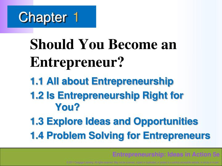 should you become an entrepreneur n.