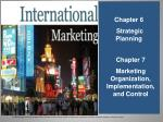 Chapter 6 Strategic Planning