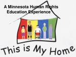 A Minnesota Human Rights Education Experience