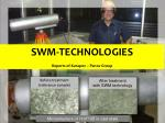 SWM-TECHNOLOGIES Reports of Kurapov – Panov Group