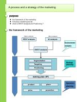 the framework of the marketing Introduce marketing words what is SWOT analysis and Positioning ?