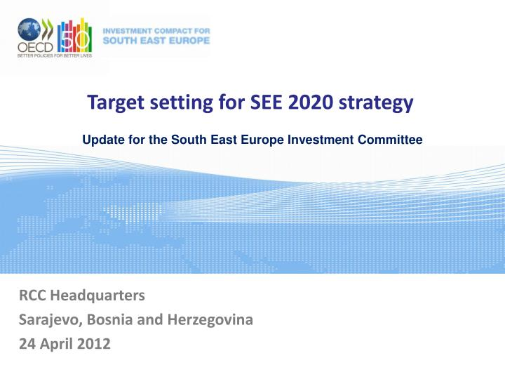 target setting for see 2020 strategy n.
