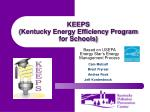 KEEPS (Kentucky Energy Efficiency Program for Schools)