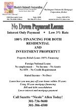 No Down Payment Loans