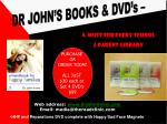 Web address: www.drjohnirvine.com Email: media@thereadclinic.com HHF and Reparations DVD complete with Happy/Sad Face M