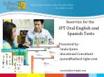helping English learners realize their full potential … one student at a time