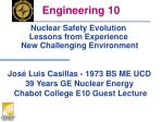 Nuclear Safety Evolution Lessons from Experience  New Challenging Environment