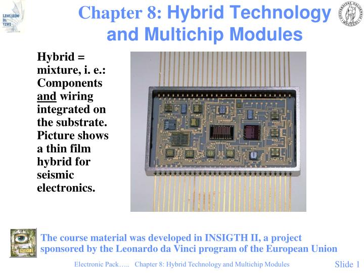 chapter 8 hybrid technology and multichip modules n.