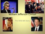 William Jeffer son Clinton