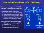 Adenosine-Deaminase (ADA) Deficiency