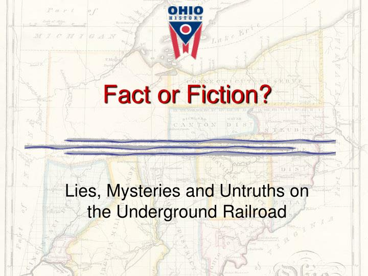 fact or fiction n.