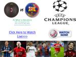 ac milan vs barcelona live uefa champions league 2011-12 4u