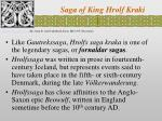 Saga of King Hrolf Kraki