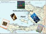 Multicultural Literacy Map Haiti