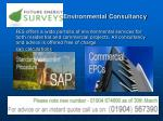 Commercial energy performance certificate