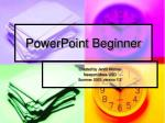 PowerPoint Beginner