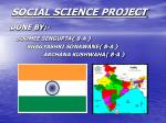 SOCIAL SCIENCE PROJECT