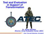 Army Test and Evaluation Command