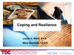 Coping and Resilience