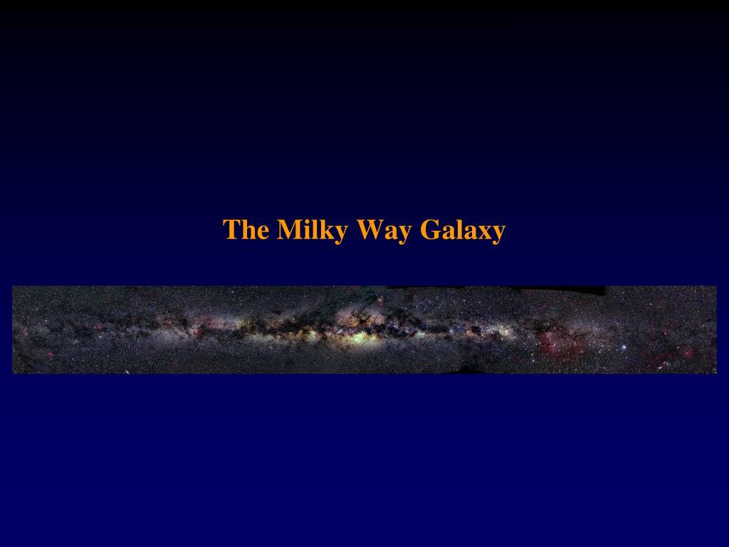 the milky way galaxy l.