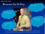Reasons for D-Day