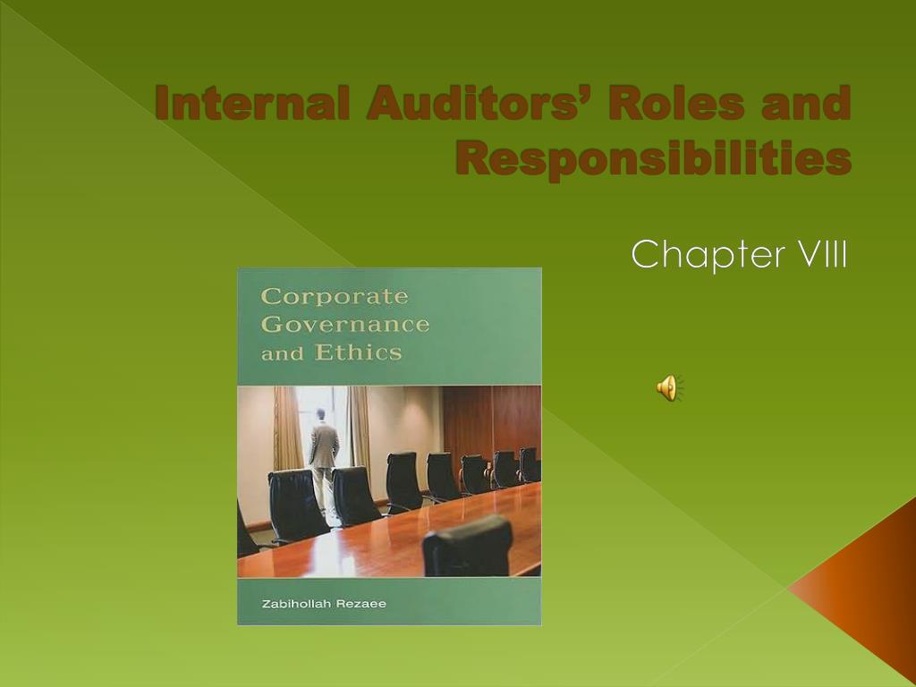internal auditors roles and responsibilities l.