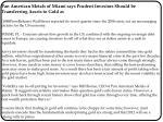 Pan American Metals of Miami says Prudent Investors Should b