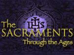 "The word ""sacrament"" ( sacramentum ),  signifies something sacred"