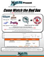 Come Watch the Red Sox
