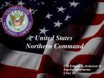 LTG Edward G. Anderson III Deputy Commander 2 Dec 03
