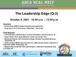 The Leadership Edge (Q-2)