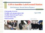 USNA Satellite Lab/Ground Station
