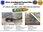 25mm Anti-Material Payload Rifle  (AMPR-XM109)