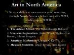 Art in North America