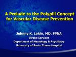 A Prelude to the Polypill Concept for Vascular Disease Prevention