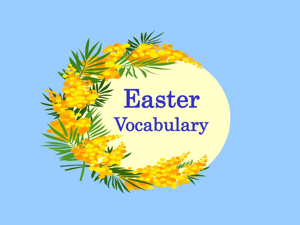 easter vocabulary l.