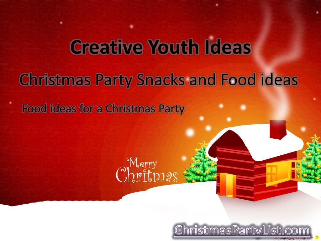 Ppt Christmas Party Snacks And Food Ideas Powerpoint Presentation Free Download Id 204392