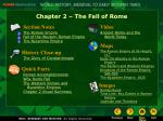 Chapter 2 – The Fall of Rome