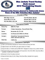 Sixth Annual 2010 Thanksgiving Classic